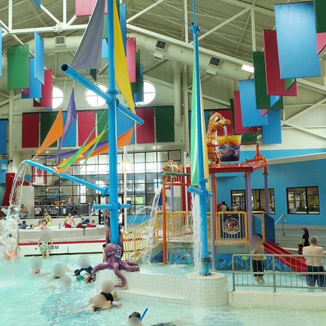 [カナダ]リッチモンドのプール「Watermania(ウォーターマニア)」は子どもが疲れすぎるほど遊ぶよ!