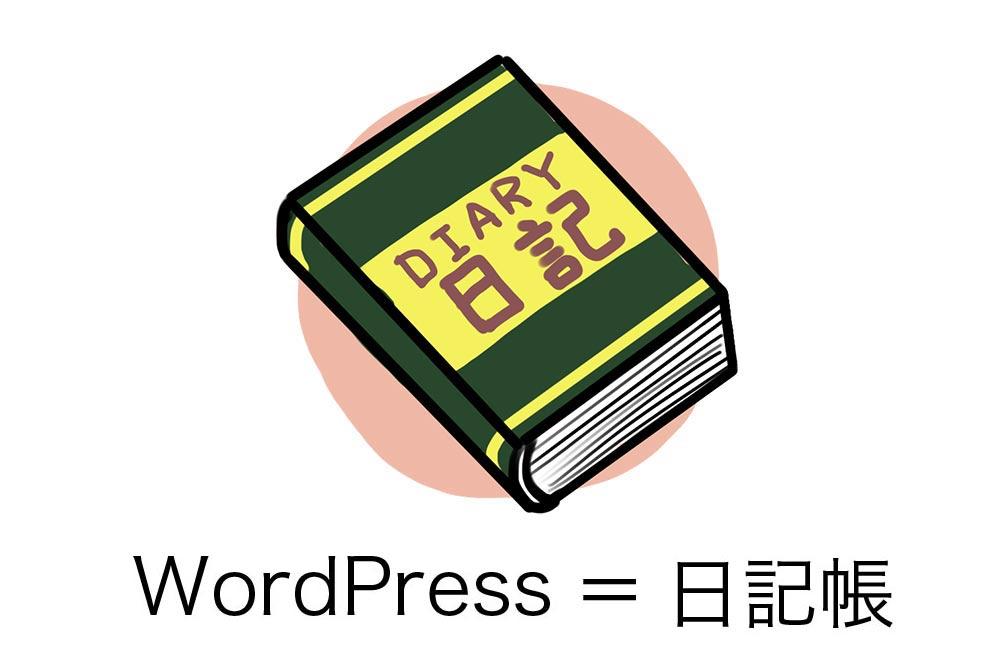 WordPressは日記帳